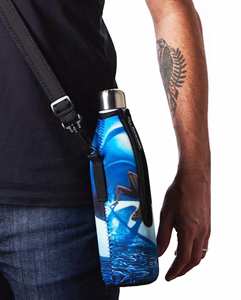 "TRVLR by BBBYO Cooler Carry Cover ""TSUNAMI"" - 25 oz"