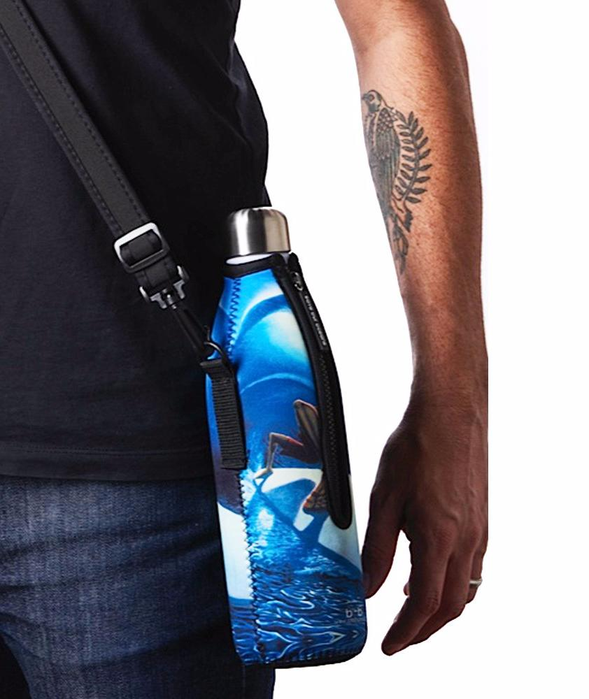 "TRVLR by BBBYO - for KLEAN KANTEEN® ""Classic"" - Cooler Carry Cover ""YOGA"" - 18 oz"