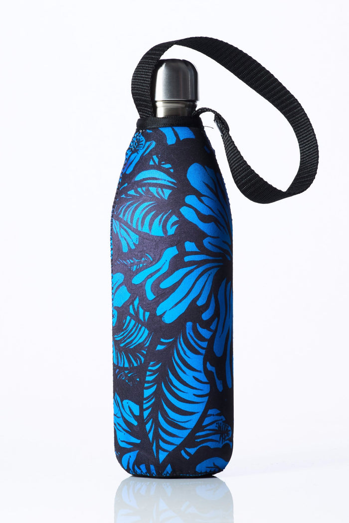 "TRVLR by BBBYO Cooler Carry Cover ""EFFLORESCENCE II"" by Anna Leyland- 25 oz"