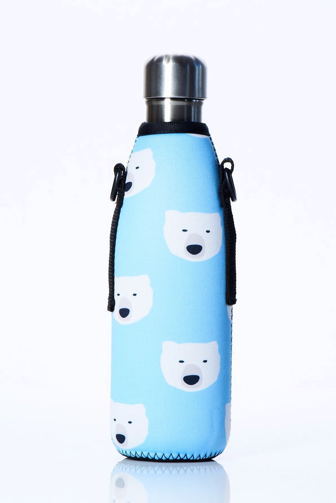 "TRVLR by BBBYO Cooler Carry Cover ""POLAR BEAR"" - 17 oz"