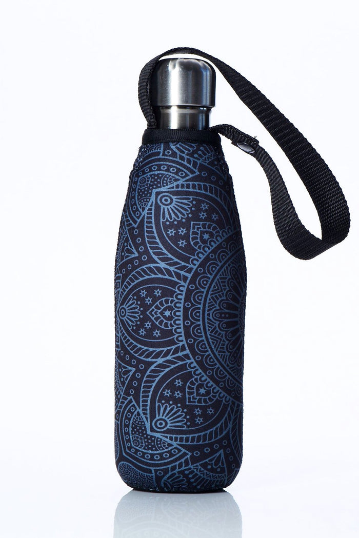 "TRVLR by BBBYO Cooler Carry Cover ""MIDNIGHT MANDALA"" - 17 oz"