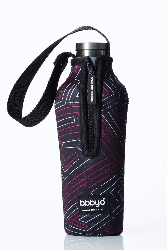 "TRVLR by BBBYO, Cooler Carry Cover for Corkcicle® ""TRON"" - 17 oz"