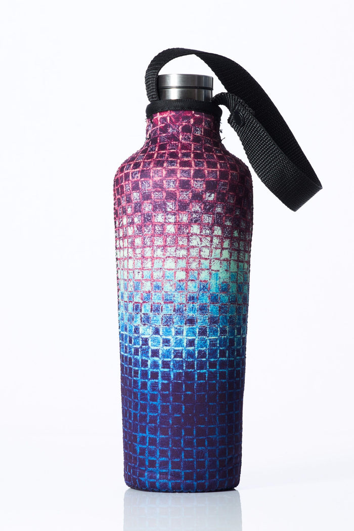 "TRVLR by BBBYO, Cooler Carry Cover for Corkcicle® ""MOSAIC"" - 25 oz"