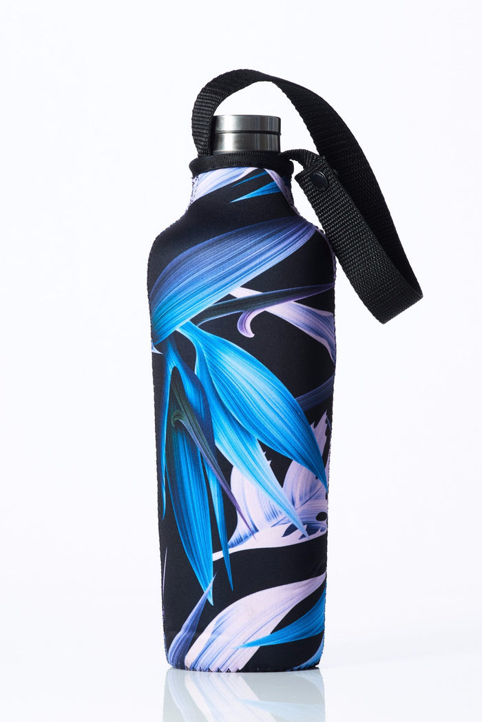 "TRVLR by BBBYO, Cooler Carry Cover for Corkcicle® ""BIRD OF PARADISE"" - 25 oz"