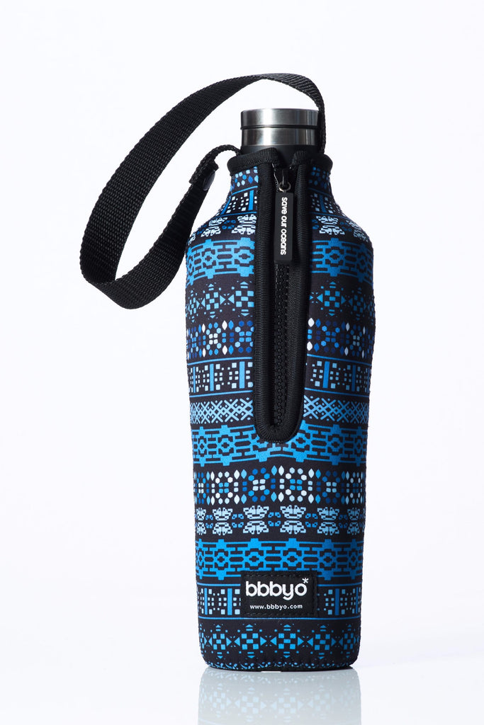 "TRVLR by BBBYO, Cooler Carry Cover for Corkcicle® ""SKI LODGE"" - 25 oz"