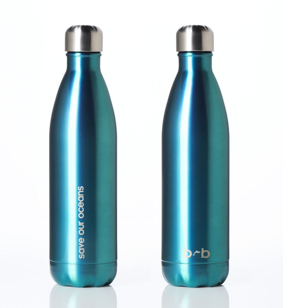BBBYO FB + CARRY COVER COMBO ('KYRLIC') STAINLESS STEEL INSULATED BOTTLE 25 oz