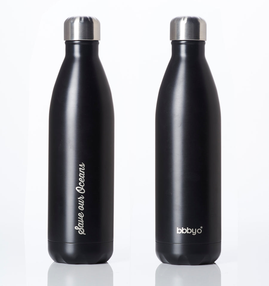 BBBYO FUTURE BOTTLE (BLACK) STAINLESS STEEL BOTTLE 25oz/750ml