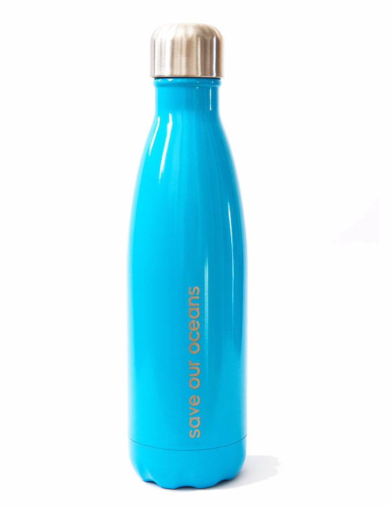 BBBYO FB + CARRY COVER  ('CALM') STAINLESS STEEL INSULATED BOTTLE 17 oz