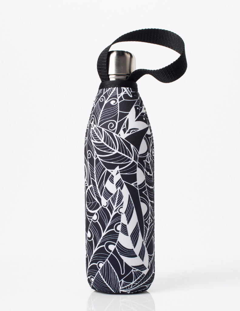 BBBYO FB + CARRY COVER COMBO ('FEATHER') STAINLESS STEEL INSULATED BOTTLE 25 oz