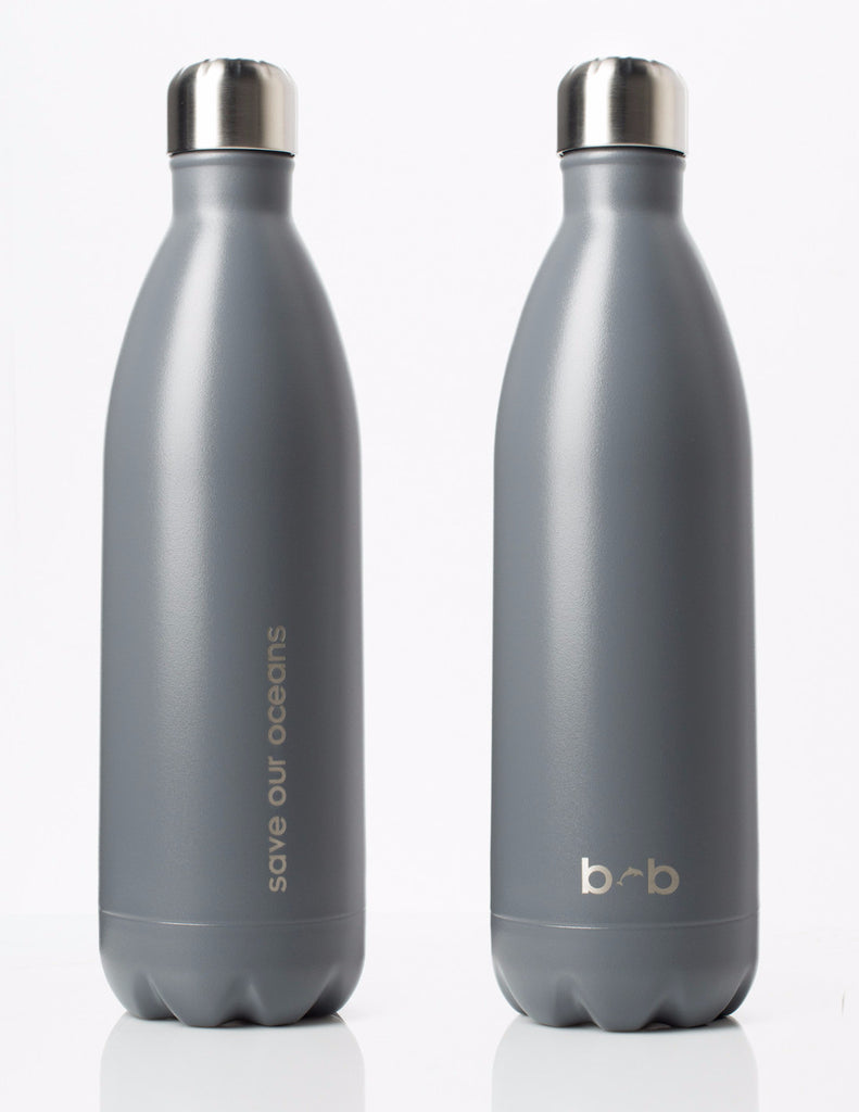 BBBYO FB + CARRY COVER COMBO ('NIGHT SEA') STAINLESS STEEL INSULATED BOTTLE 34 oz