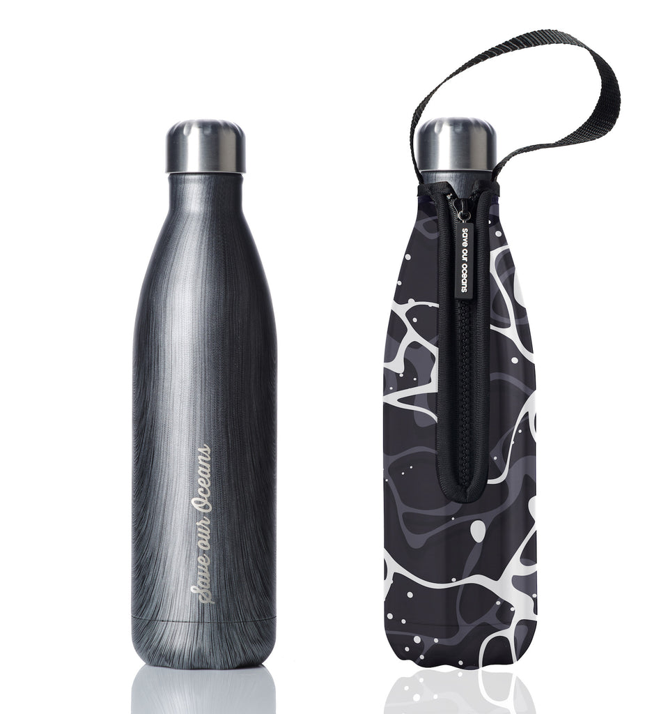 BBBYO FB + CARRY COVER COMBO ('POOL') STAINLESS STEEL INSULATED BOTTLE 25 oz