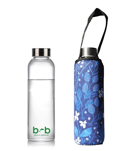 GLASS IS GREENER BOTTLE + CARRY COVER