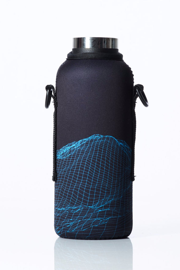 "TRVLR by BBBYO - for HYDROFLASK® - Cooler Carry Cover ""TRANSMISSION"" - 18 oz"