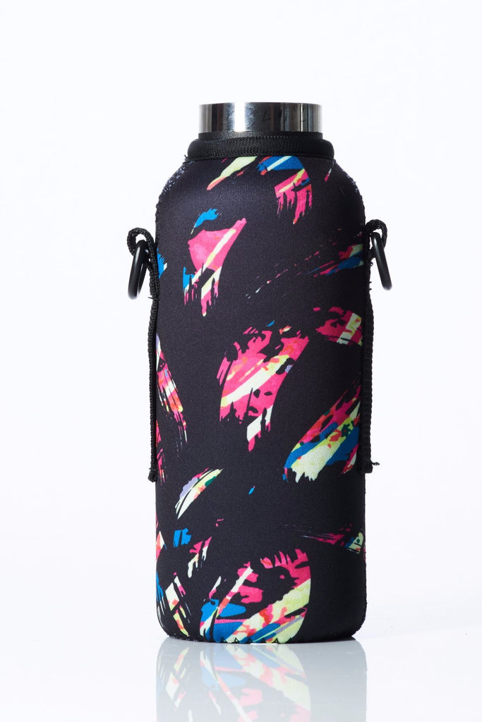 "TRVLR by BBBYO - for HYDROFLASK® - Cooler Carry Cover ""FLAMINGO"" - 18 oz"