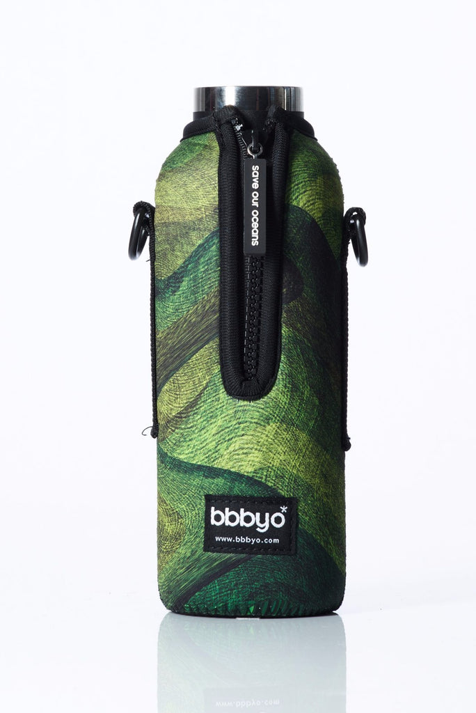 "TRVLR by BBBYO - for HYDROFLASK® - Cooler Carry Cover ""MOSS"" - 21 oz"