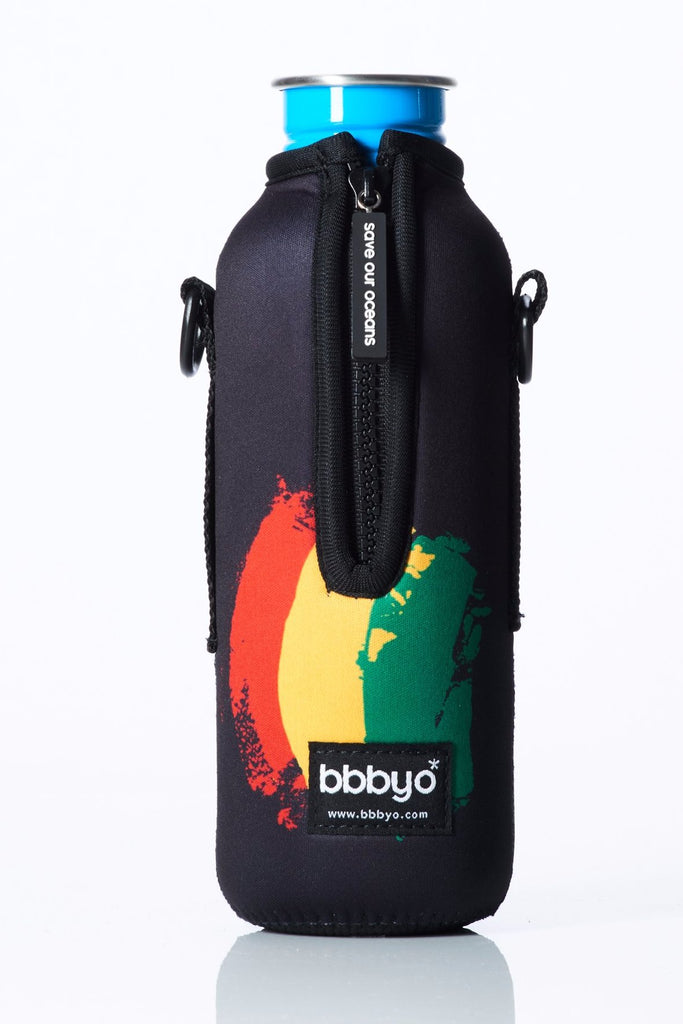 "TRVLR by BBBYO - for KLEAN KANTEEN® ""Classic"" - Cooler Carry Cover ""LION OF JUDAH"" - 27 oz"