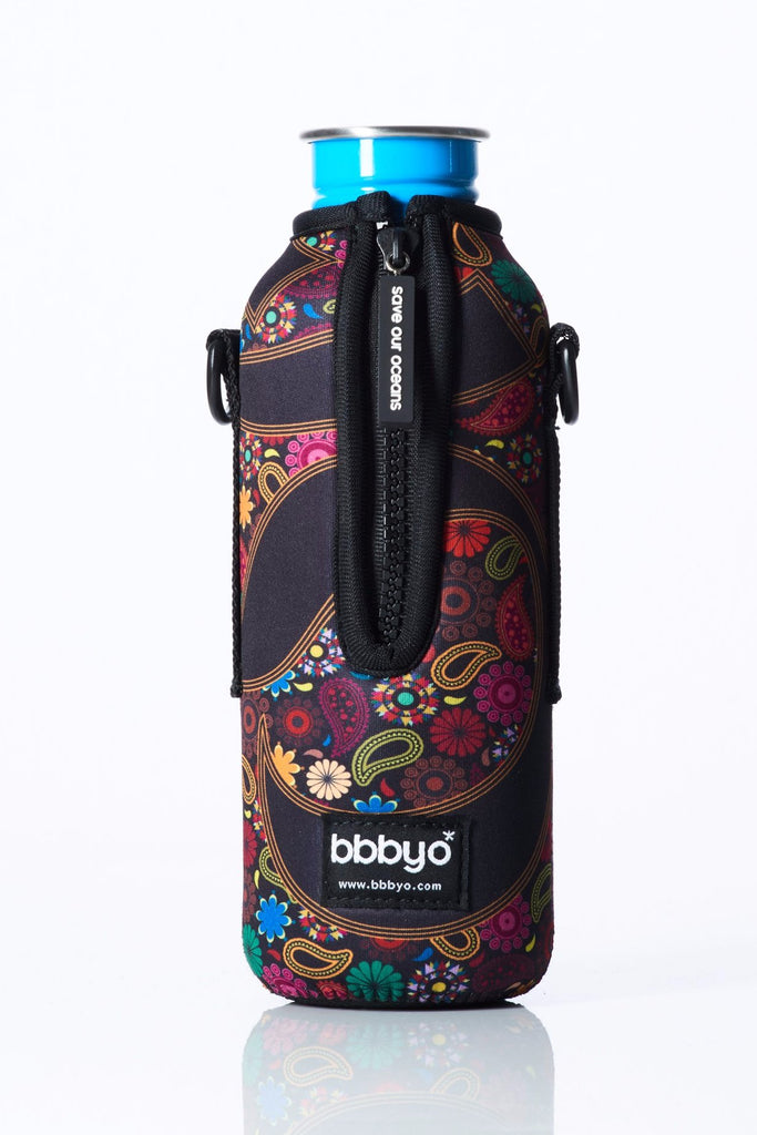 "TRVLR by BBBYO - for KLEAN KANTEEN® ""Classic"" - Cooler Carry Cover ""YOGA"" - 27 oz"