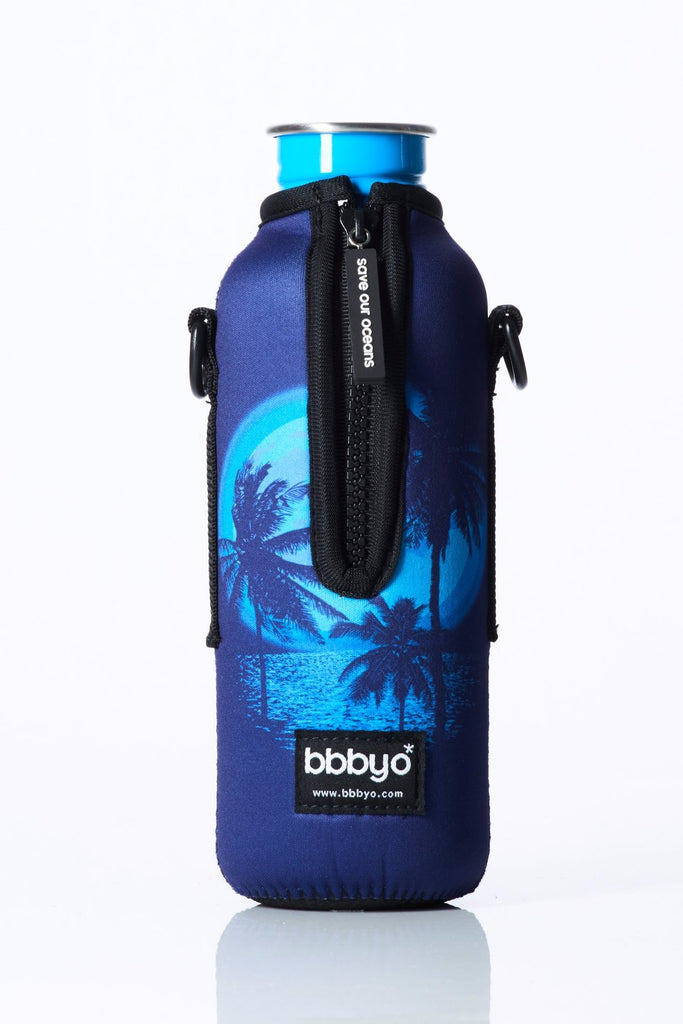 "TRVLR by BBBYO - for KLEAN KANTEEN® ""Classic"" - Cooler Carry Cover ""PALM"" - 27 oz"