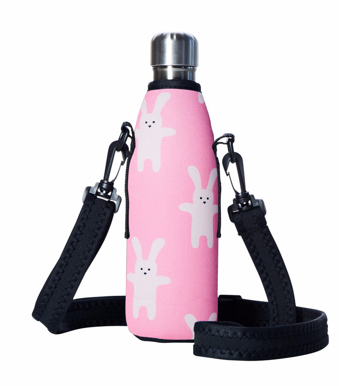 "TRVLR by BBBYO Cooler Carry Cover ""BUNNY"" - 17 oz"