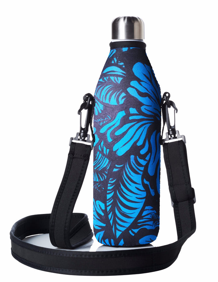 "TRVLR by BBBYO Cooler Carry Cover ""EFFLORESCENCE II"" by Anna Leyland - 25 oz"