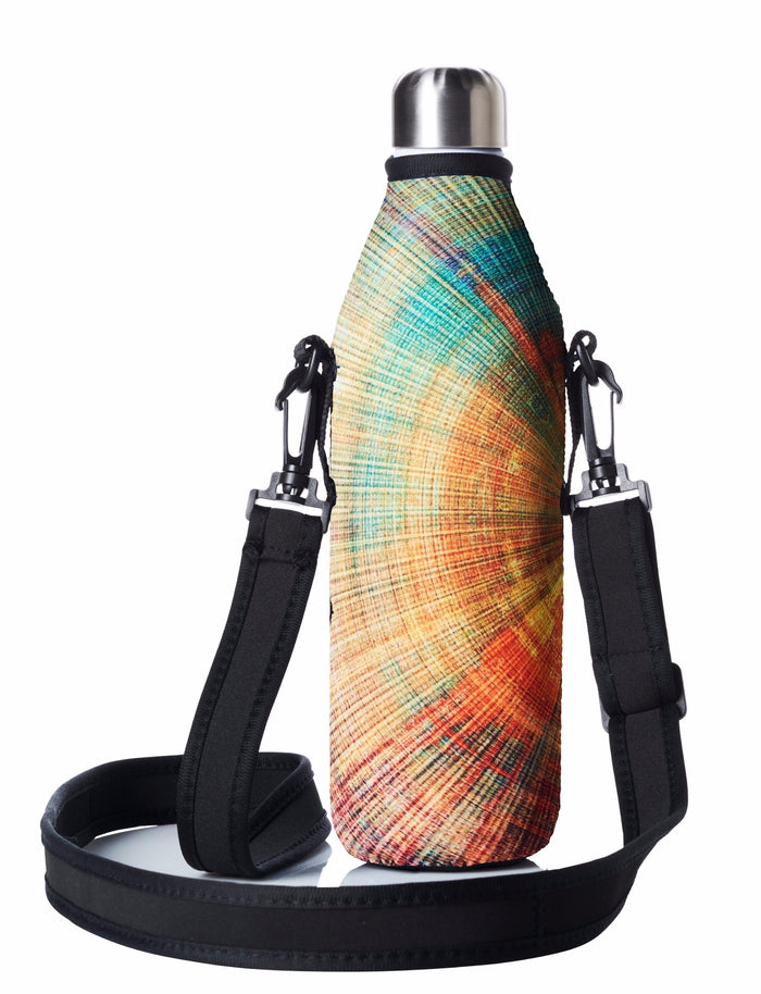 "TRVLR by BBBYO Cooler Carry Cover ""SPIRAL"" - 25 oz"