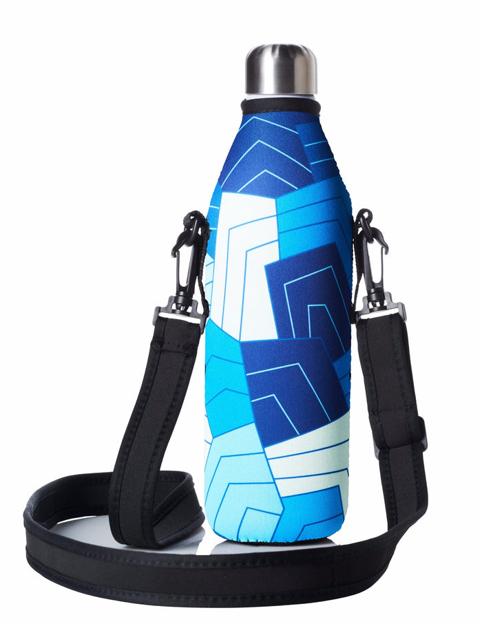 "TRVLR by BBBYO Cooler Carry Cover ""GEOMETRY"" - 25 oz"