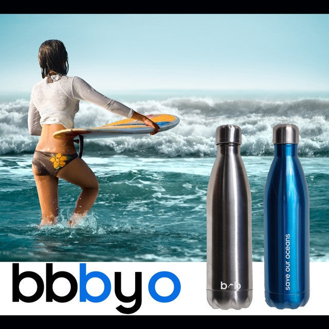 BBBYO FUTURE BOTTLE (BLUE) STAINLESS STEEL BOTTLE 25 oz
