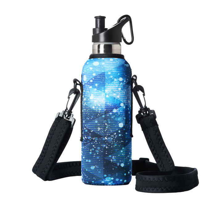 "TRVLR by BBBYO - for HYDROFLASK® - Cooler Carry Cover ""ASTEROIDS"" - 21 oz"
