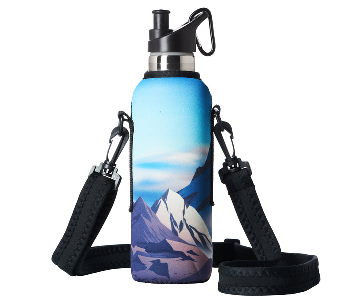 "TRVLR by BBBYO - for HYDROFLASK® - Cooler Carry Cover ""EVEREST"" - 21 oz"
