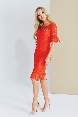 https://www.lisasattic.co.uk/products/paper-dolls-orange-crochet-bardot-dress