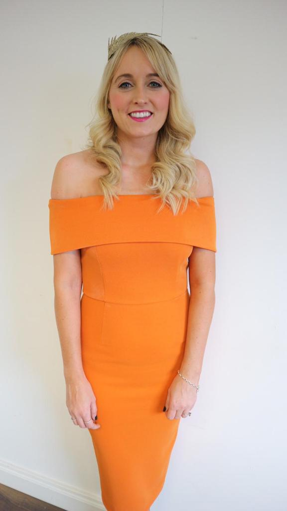 Gina Bardot Dress - Orange