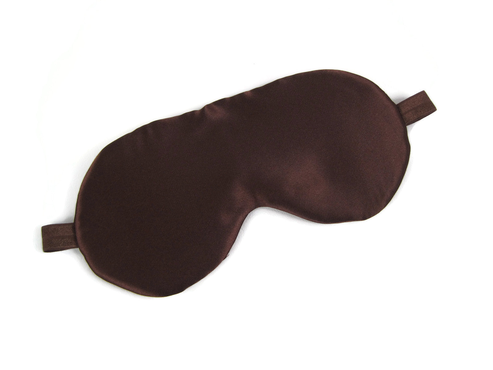 Satin Sleep Mask - Chocolate (Brown)
