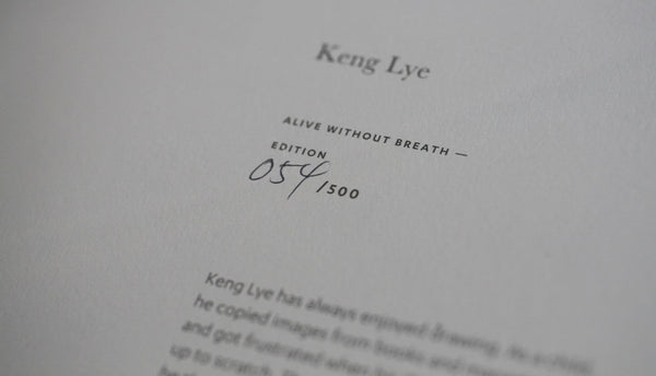 Alive Without Breath<br/> <i>Exhibition Catalogue</i>