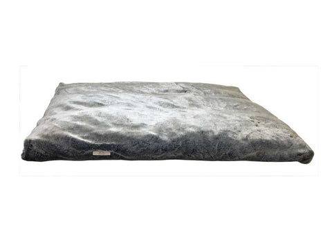 Faux Fur Bed Grey