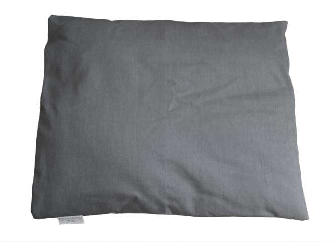 Hector Hartley Luxury Dog Bed Duvet Italian Denim Grey Large
