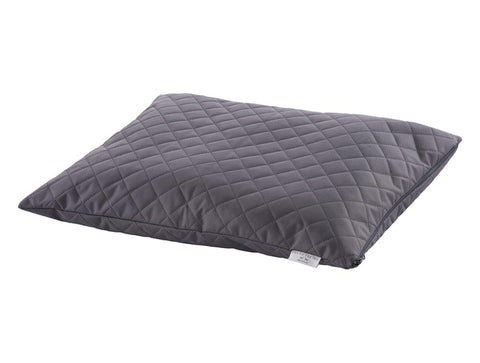 Large Waterproof Quilted Duvet Pillow Bed in Warm Grey