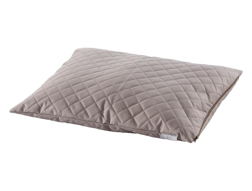 Waterproof Quilted Duvet Pillow Bed in Latte