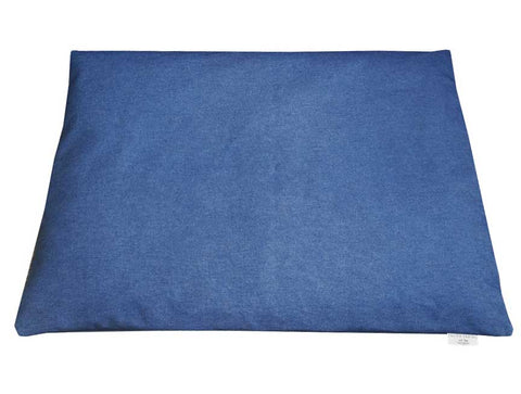 Large Rich Blue Denim Mattress Bed