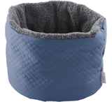 Tranquility Dog Bed in Lapis Blue
