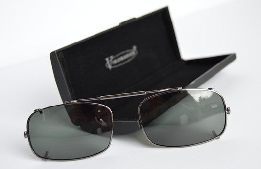 Visionaries spring fit clip on sunglasses