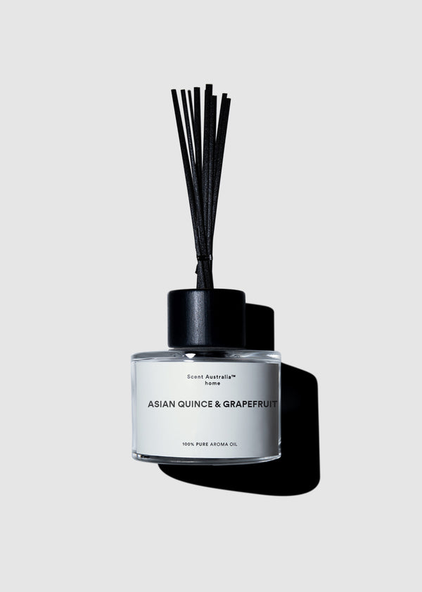 Asian Quince & Grapefruit Reed Diffuser (200ml) Made in Australia