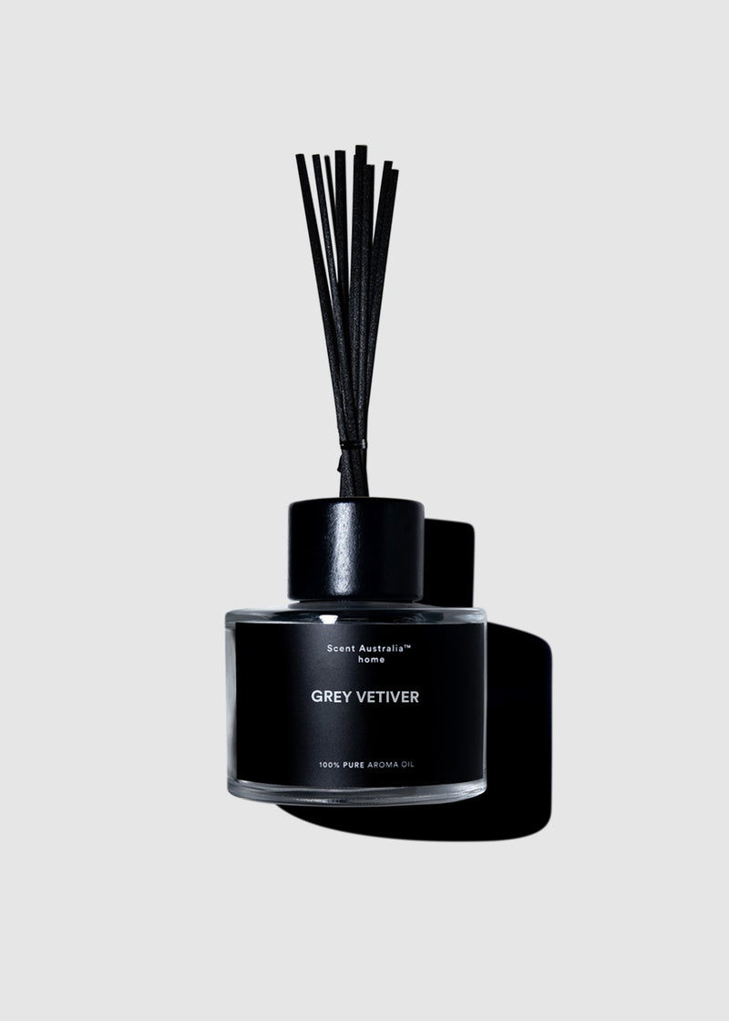 Grey Vetiver Reed Diffuser (200ml)