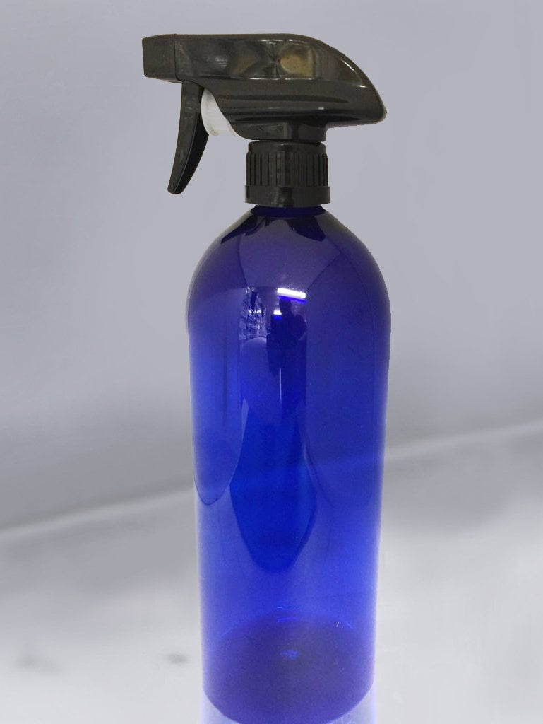 Alcohol disinfectant spray bottle. 1 litre capacity