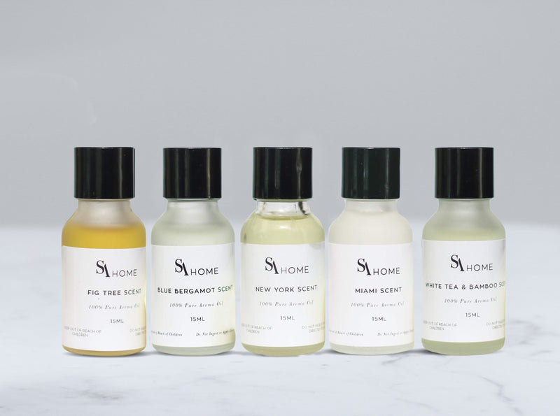 5-pack of Luxury Range Oils