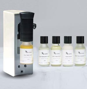 Diffuser & 5-pack of Luxury Oils