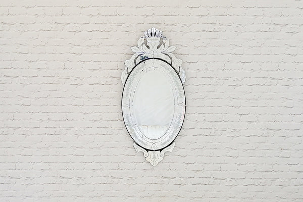 Large Venetian style wall mirror