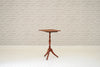 A Victorian mahogany tripod wine table/side table