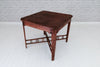 A vintage teak side table or small dining table