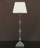 Tall Square Base Table Lamp with Shade