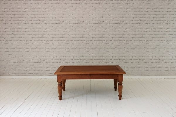 A vintage teak coffee table from Java